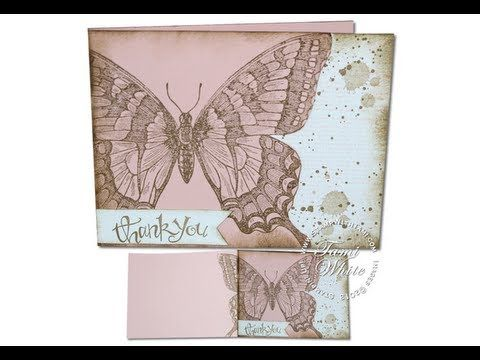 Love this! Have to pin it on butterfly cards, too.Grunge Swallowtail Surprise - Cut Out Butterfly Card featuring Stampin Up