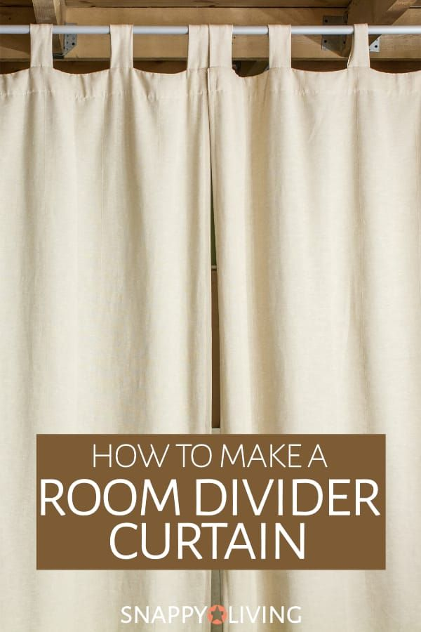 How To Make A Room Divider Curtain Room Divider Curtain Room