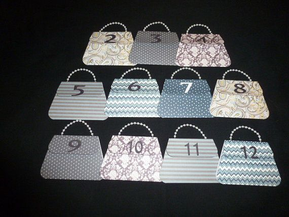 Thirty One Consultant  Dice Game purses for Fall by AandCDesign