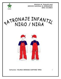 Curso patronaje infantil nino nina octubre 2011  patrones cotura