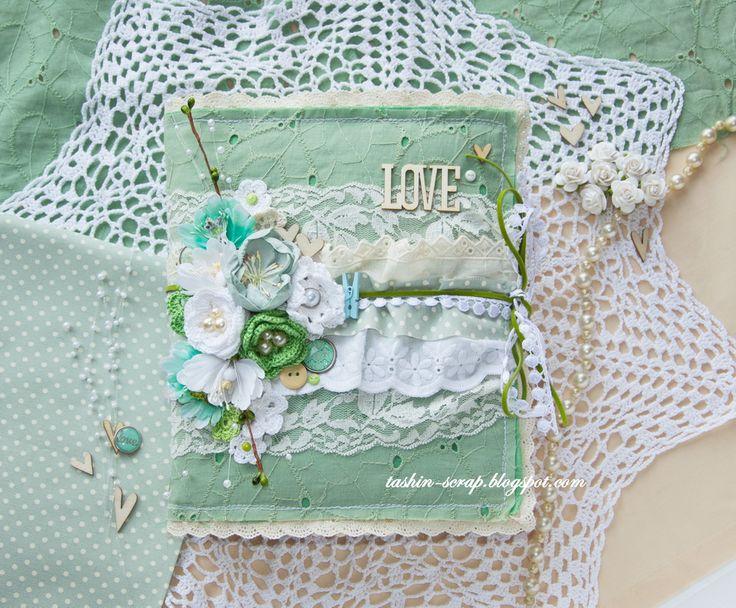 "My scrap tales: ""My cotton-book"" или в облаке кружева))))"