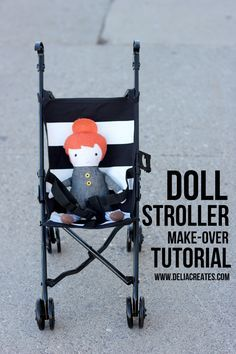 Baby Stroller Make Over - Delia Creates