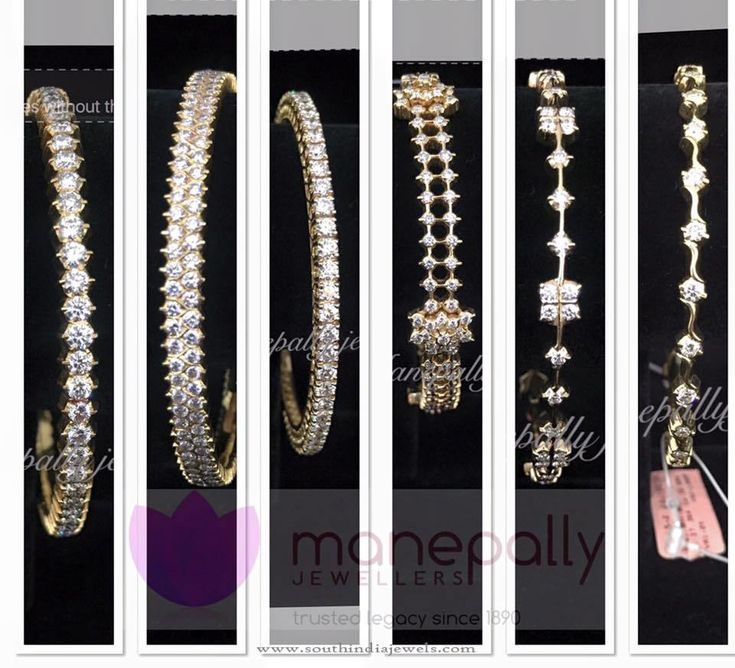 Latest Diamond Bangle Designs 2016, Latest Diamond Bangle Collections 2016.