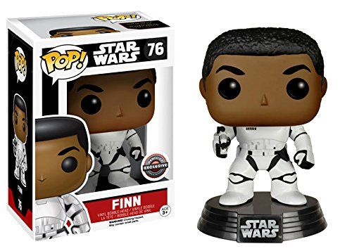 Funko POP Star Wars Episode 7 The Force Awakens Finn as Stormtrooper Exclusive Figure