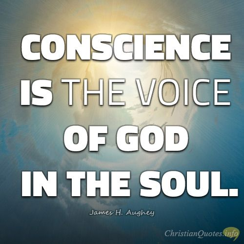 Conscience is The Voice of God Essay Sample