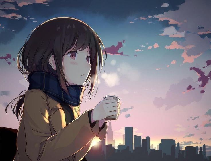 نتیجه تصویری برای anime girl walking gif