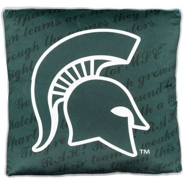 Michigan State Spartans Fight Song Plush Pillow - $24.99