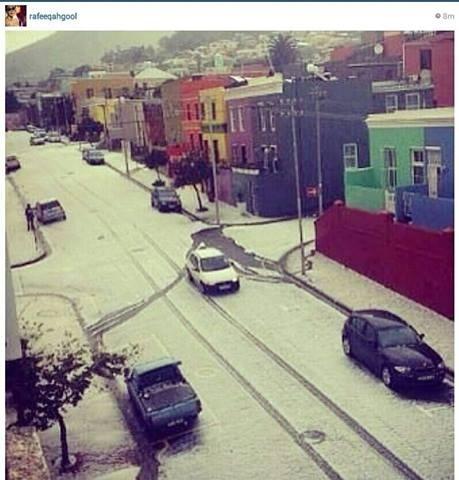 hail n Cape Town  (may  2013)