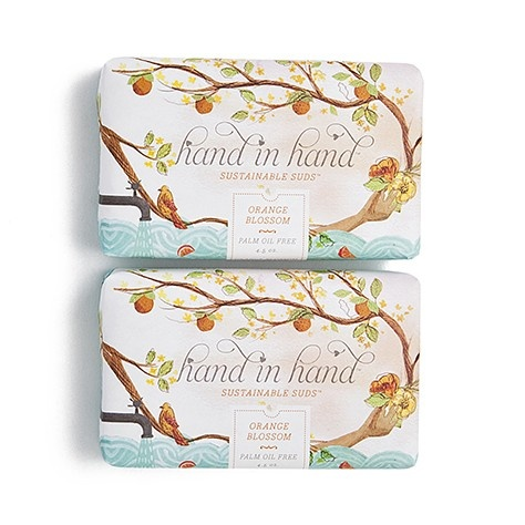 Orange Blossom / Hand in Hand {every bar purchased hand in  hand will donate a bar to save a child's life}