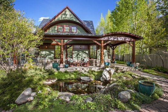 The Wall Street Journal's House of the Day features the 7,259-square-foot, Bernard Maybeck-inspired mountain estate 1110 Waters Street in Aspen, Colorado. Venture capitalist Bill Coleman will sell his unique, custom-built home that took almost four years to build through @conciergeluxury. #RealEstate #Luxury #Client #Aspen