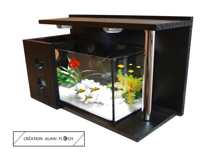 aquarium cocooning aquarium pinterest aquarium meuble tv rangement et aquarium terrarium. Black Bedroom Furniture Sets. Home Design Ideas