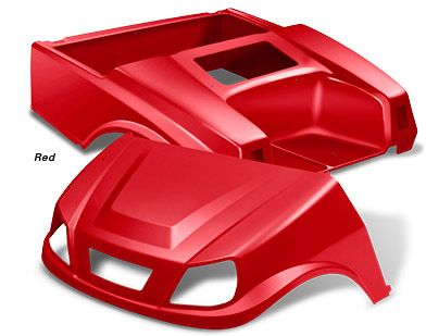 Club Car DS Spartan Body Sets - DS Player by DoubleTake®      Thermoformed from solid colored high impact