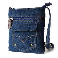 Resultado de imagen para bolsos de jeans de moda