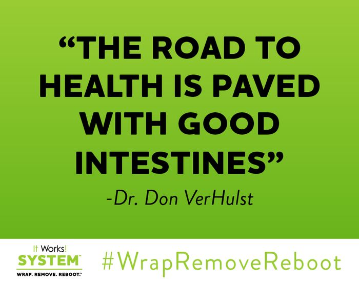 Good morning! Pave your day right and treat your body well! #WrapRemoveReboot