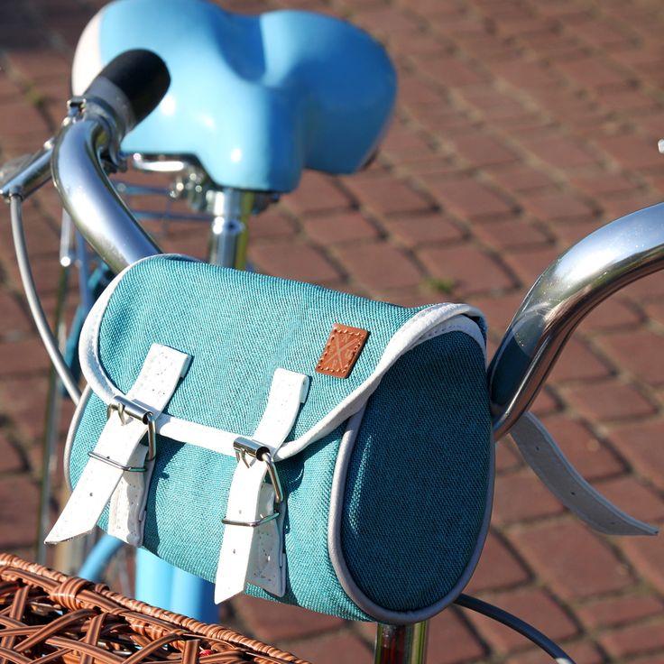 Sakwa rowerowa pod siodło a na kierownicę też się nadaje.