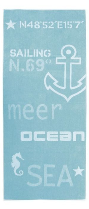 Strandtuch Nautic 75x180 cm Mehr ansehen: http://www.textilshop.at/showproduct.php?id=7195