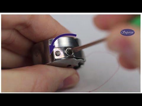 Adjusting Longarm Bobbin Tension The Video Says Turn The