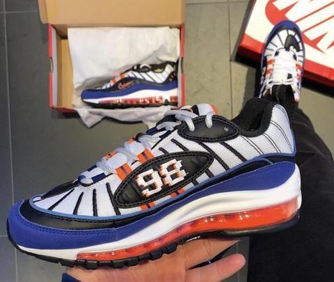 info for 19afe 1b2cb AIR MAX 98 KNICKS   nike shoe in 2019   Nike, Air jordan 11 ...