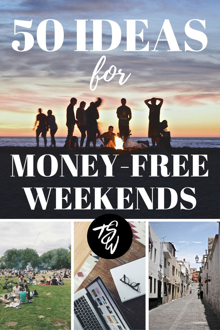 Weekend adventures do NOT have to be expensive!  By doing these free things instead, you'll be able to save for your travel goals much faster.