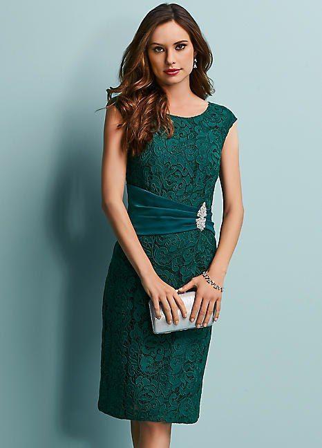 de097a37fa0 Lace Sash Detail Dress in 2018