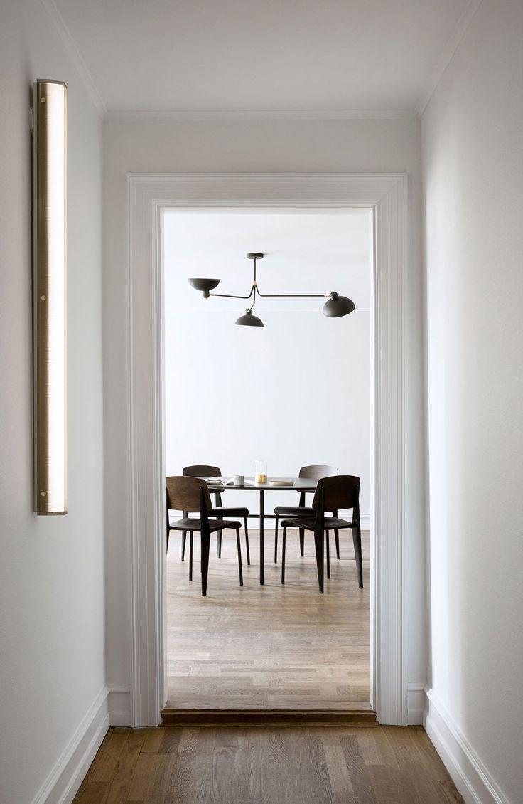 Modern dining table interior design - Minimal Interiors Modern Dining