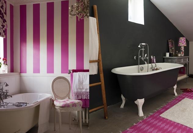 """""""Pretty-in-Pink"""" - Badezimmer"""