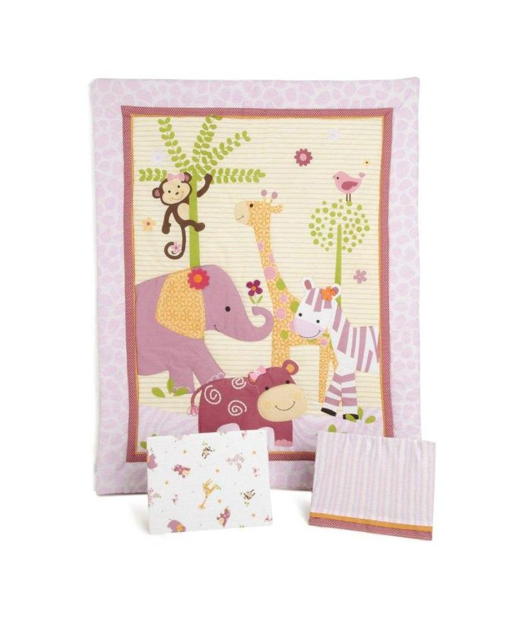 Buy Lambs & Ivy Lil' Friends 3 Piece Bedding Set - Multicoloured at Argos.co.uk - Your Online Shop for Nursery bedding sets.
