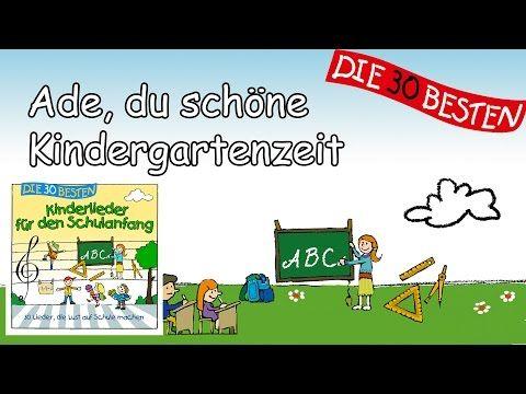 Kindergarten - Die Kinder verabschieden sich - YouTube