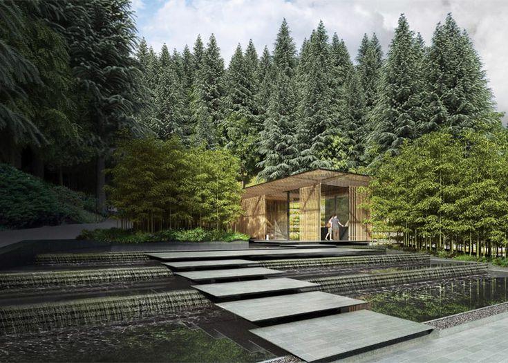 Kengo Kuma designs expansion for Portland Japanese Garden