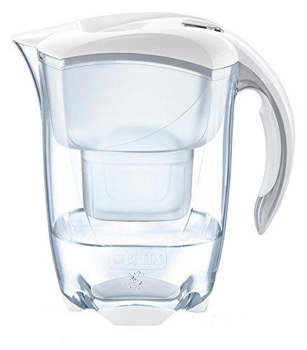 From 14.13 Brita Elemaris Cool Water Filter Jug And Cartridge White