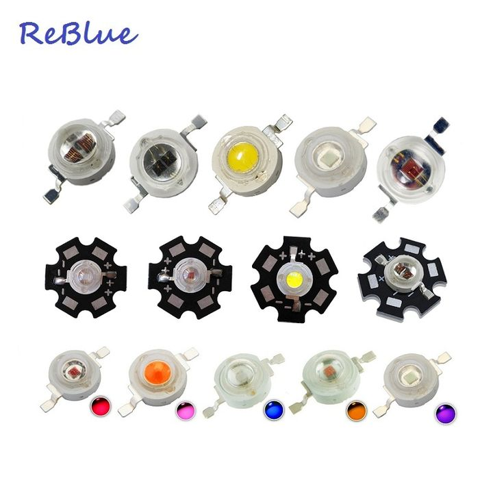 25Pcs ReBlue Led Diode 5W 850nm infrared Led Diode 3W 1W 5W IR uv diode Red 660nm 630nm 3w-led-diode Light Beads Bridglux Chip #Affiliate