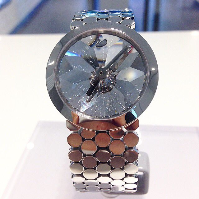 Swarovski watch - Lake of Shimmer https://www.thesterlingsilver.com/product/daniel-wellington-glasgow-silver-womens-quartz-watch-with-white-dial-analogue-display-and-multicolour-nylon-strap-0602dw/