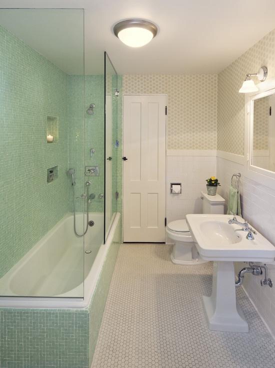 Bathtub Ideas Bathroom Ideas Bathroom Design Pictures Bathroom Designs Green Bathrooms Designs Green Bathroom Tiles White Subway Tile Bathroom Ideas