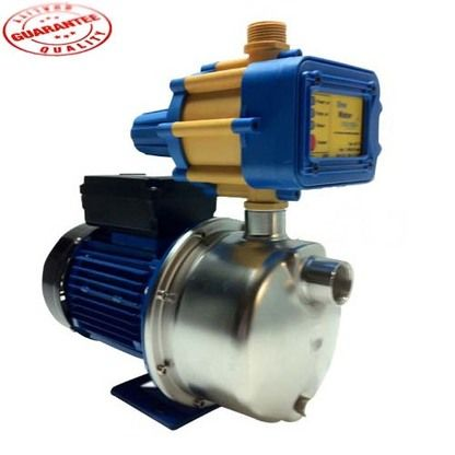 Our pressure pumps LSJ-05E is ideal for 3+ taps, clean water/rainwater, pressure boosting, rainwater tanks and any kind of household usage. It is the most efficient water pressure pump on the market as it is very durable #pressurepump