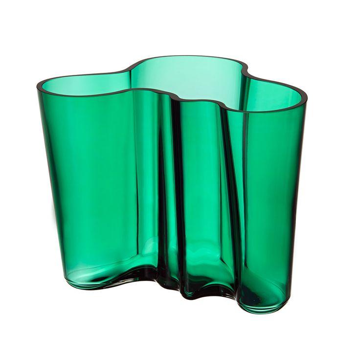 Iittala Aalto Vase smaragd /16cm € 136,-