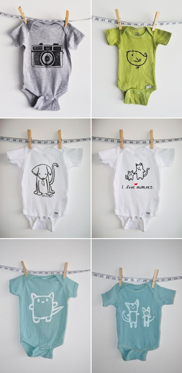 Stylish Unisex Baby Clothing. So hard to find cute unisex stuff.