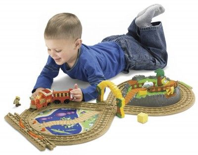 Brinquedo Fisher-Price GeoTrax On the Go Zoo #Brinquedo #Fisher-Price