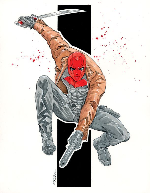 The Red Hood (Jason Todd): Comics Nerd, Chris Rings, Dc Comics, Redhood, Aka Red, Bats Families, Anti Heroes, Red Hoods Jason Todd, 52 Red