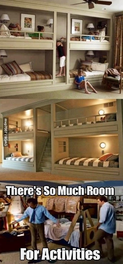 So much room for activities!