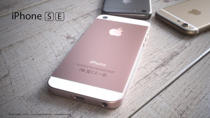 El diseño del iPhone SE será igual al del iPhone 5S.