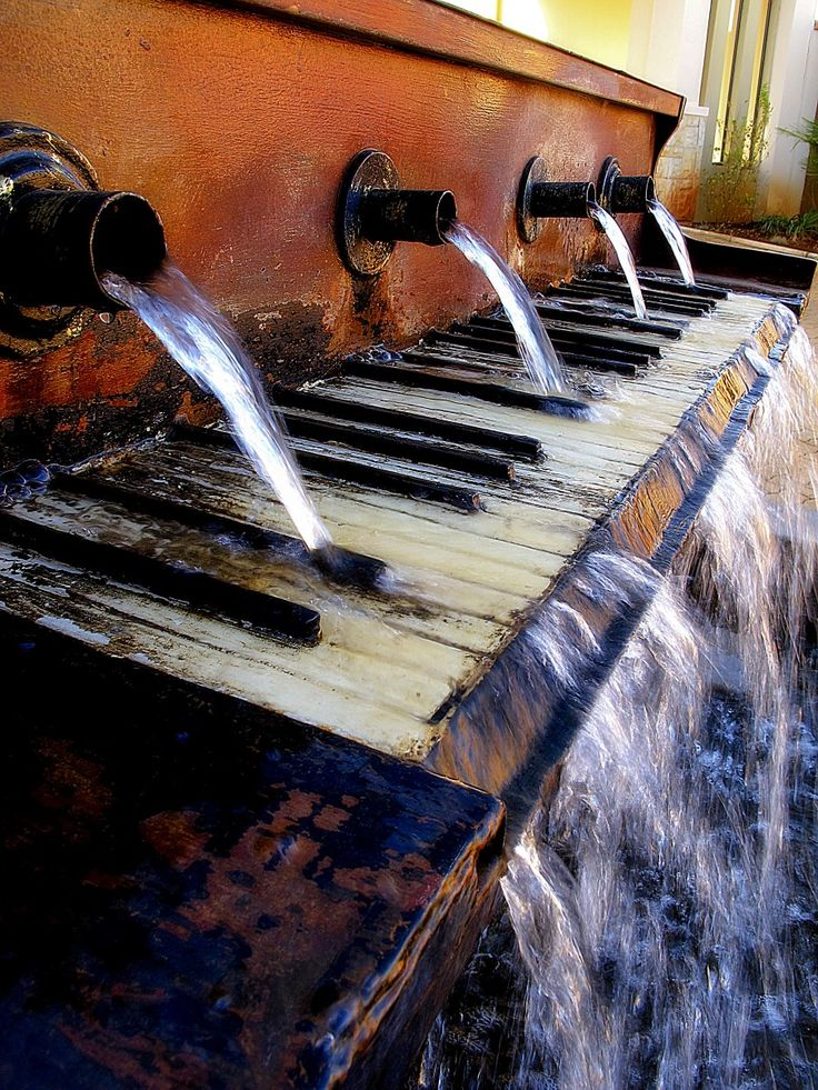 Piano Fountain on River Road, #Vaal  by Fred Swart #Photography http://www.n3gateway.com/news5/17/151/Fred-Swart-Lens-of-Africa-Photography/d,detail.htm