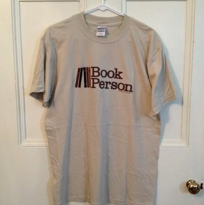 Book Person T-Shirt Size Medium