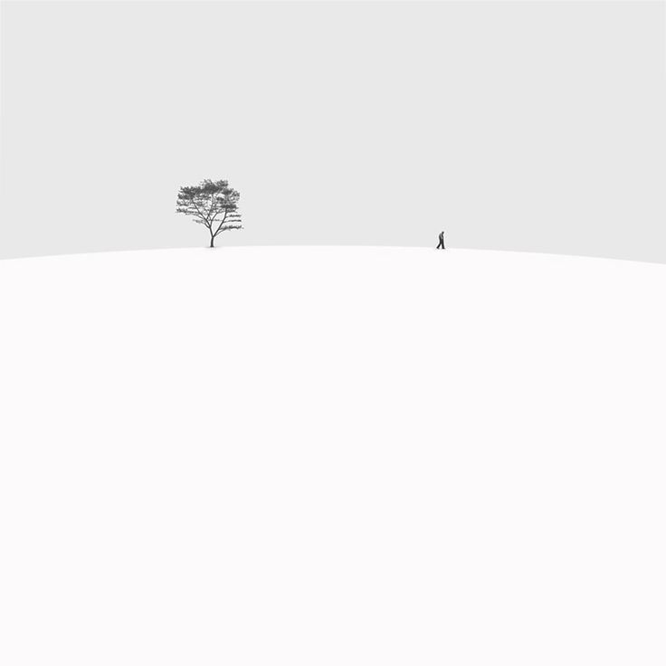 Minimalist Black and White Photography by Hossein Zare | DeMilked