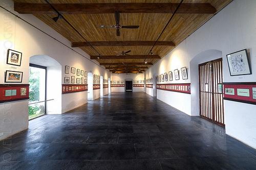 Mario de Miranda's Work at Reis Magos Fort