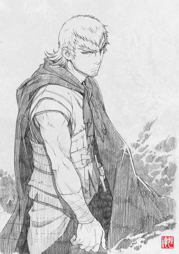 Tsunenori saito stranger mukou hadan ストレンヂア 無皇刃譚 sword of the stranger luo lang