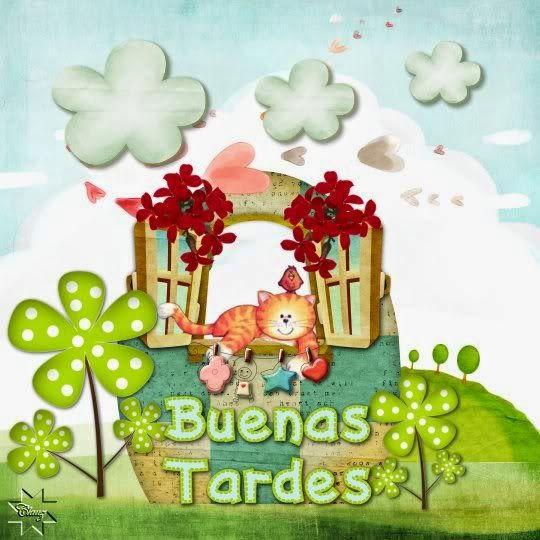IMÁGENES Y GIFS ANIMADOS : GIFS DE BUENAS TARDES