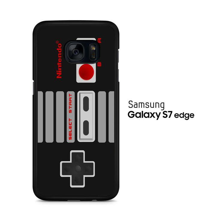 Classic Nintendo Controller Samsung Galaxy S7 Edge Case