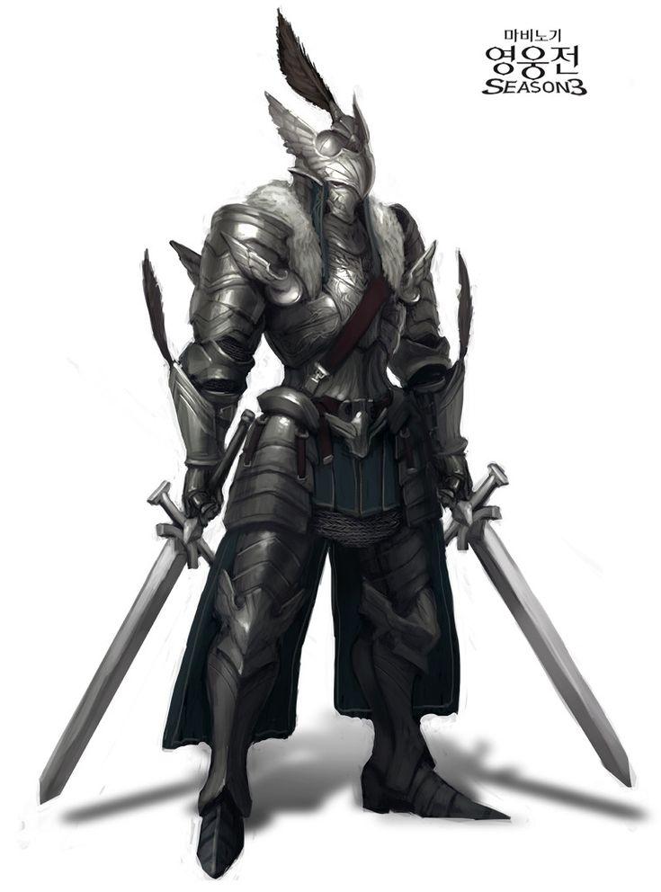 Warrior Concept Dragon Armor Art