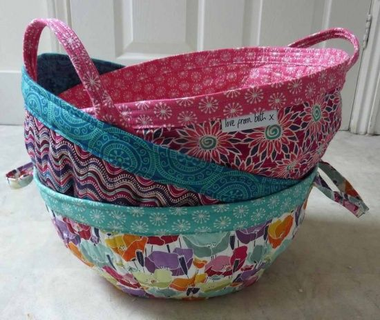 Fabric Project Baskets - Quilting Digest