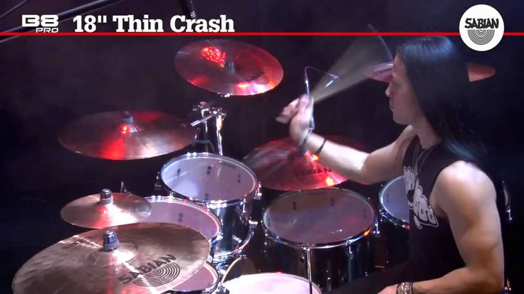The 20″ B8 Pro Thin Crash is part of the new B8 Pro Series. It features a new more aggressive hammering style and bell to upgrade the sound of this great crash.  Known for his amazing drum work with DIVINE HERESY and more recently with Morbid Angel Tim Yeung is known for his speed,...